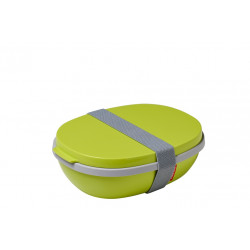 Lunchbox Ellipse Duo limonka Mepal