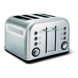 Toster Accents brushed na 4 tosty Morphy Richards