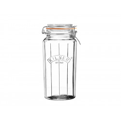 Słoik 1,8 l Facetted Clip Top Jars Kilner