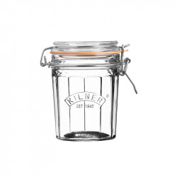 Słoik 0,45 l Facetted Clip Top Jars Kilner