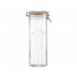 Słoik 2,2 l Facetted Clip Top Jars Kilner