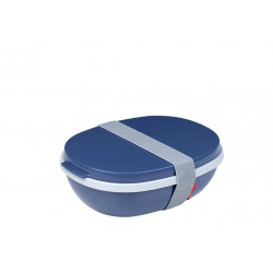Lunchbox Ellipse Duo nordic denim Mepal