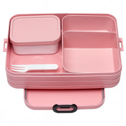 Lunchbox Take a Break Bento różowy nordic pink Mepal